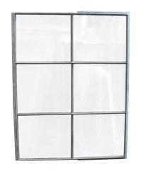 Six Pane Industrial Steel Frame Glass Window | Olde Good ...