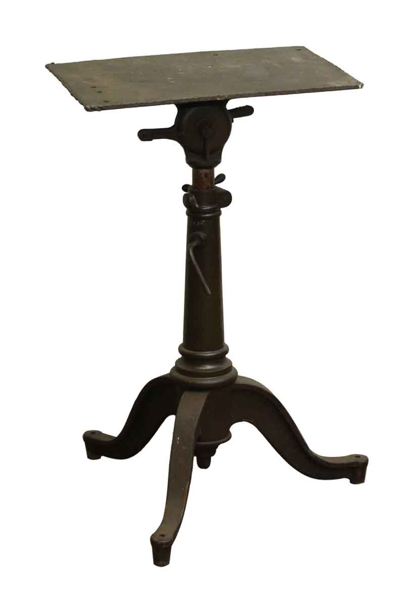 Great Cast Iron Vintage Drafting Table Base  Olde Good Things