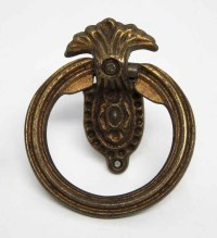 Victorian Bronze Drawer Pull