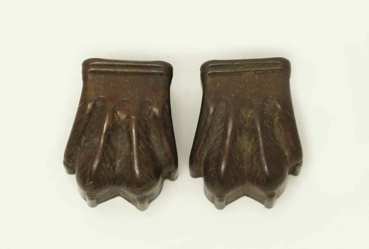 sofa feet covers best rated bed pair of tin claw furniture olde good things