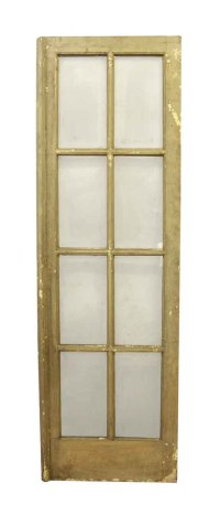 Used French Door with Eight Panels