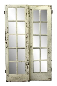 Used Old French White Wood Door | Olde Good Things