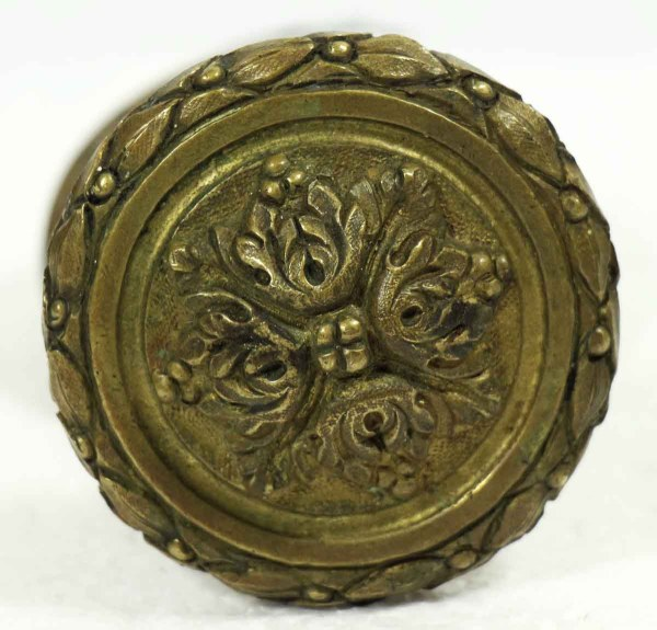 Antique Italian Door Knob With Rosette Olde Good