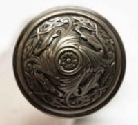 Antique Sargent Brass Door Knob Set | Olde Good Things