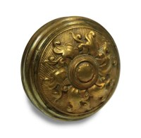 Antique Six Fold Spiral Bronze Ornate Door Knob | Olde ...
