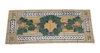 vintage tile murals olde good things