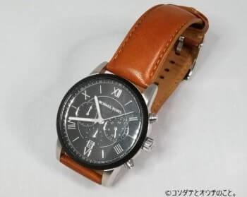 撮影ボックス(白ライト×白背景)で撮った腕時計