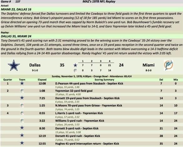 Game 137 Dal at Mia