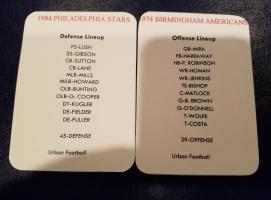 Birmingham Offense vs Philadelphia Defense