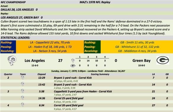 NFC Championship LA at GB.xlsx