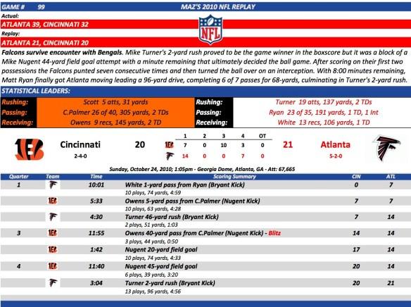 Game 99 Cin at Atl