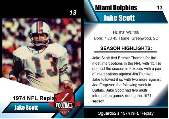 1974 jake scott card