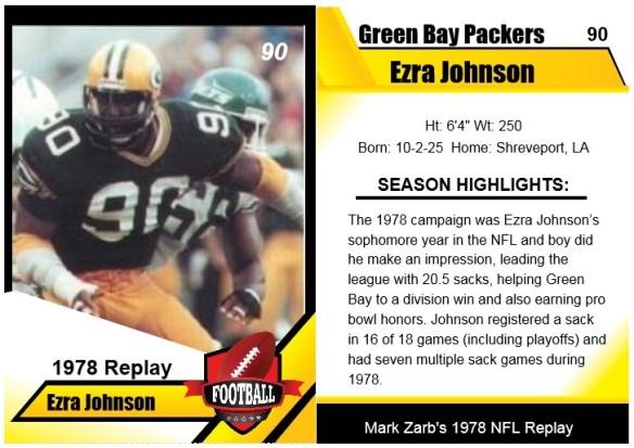1978 - Ezra Johnson Card