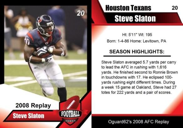 2008 - Steve Slation Card