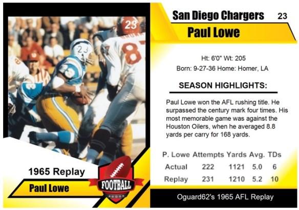 1965 - Paul Lowe