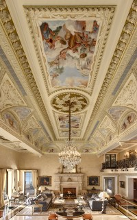 Hand Painted Ceiling Murals in Naples |O'Guin Decorative ...