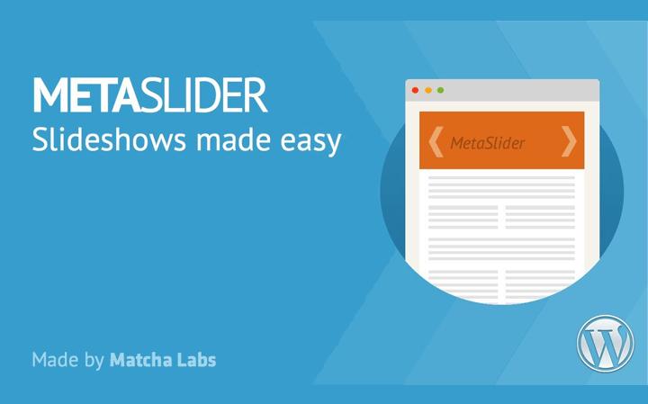 En İyi WordPress Eklentileri – Meta Slider