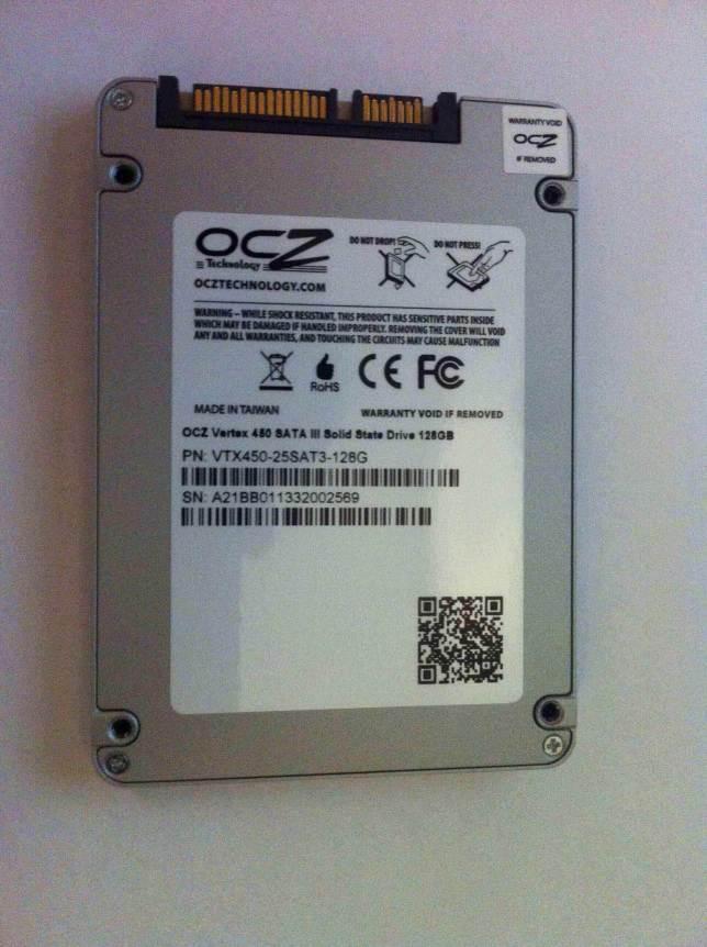 OCZ Vertex 450 Arka