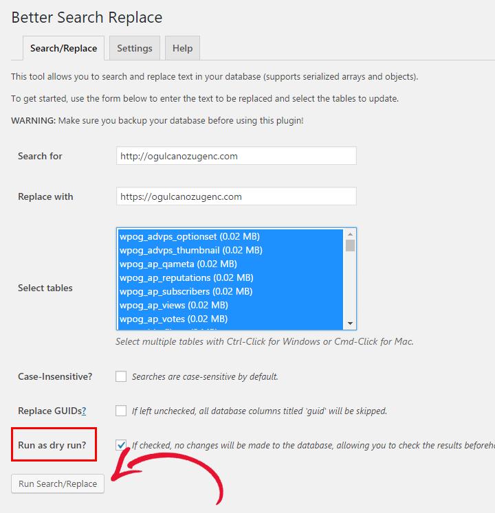 WordPress Eklentisiz SSL Geçişi - Really Simple SSL ve Jetpack Problemi Better Search Replace