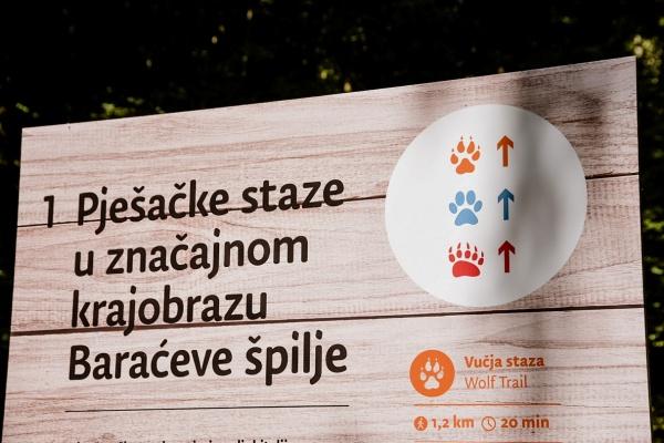 Ogulin.eu Otvorene novouređene pješačke staze kod Baraćevih špilja