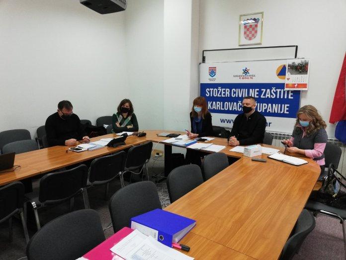 Ogulin.eu Koordinacija Karlovačke županije, gradova, općina i lokalnih stožera oko prijave šteta i rada statičara