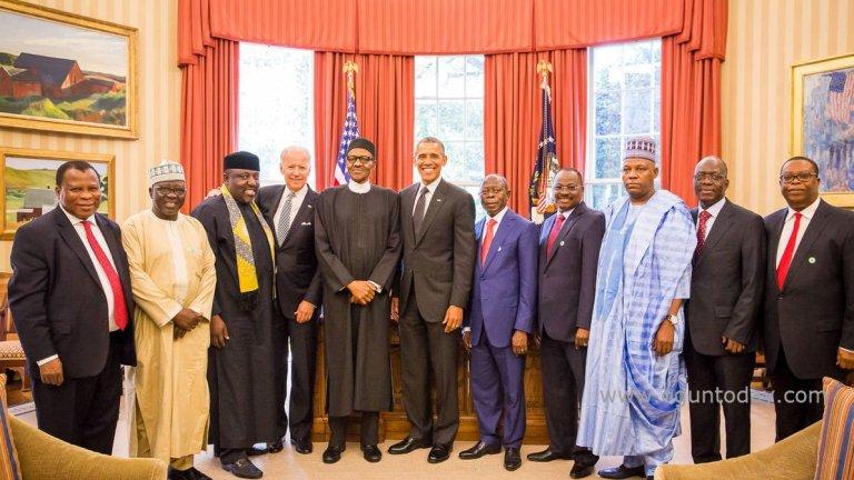 Buhari visit to us