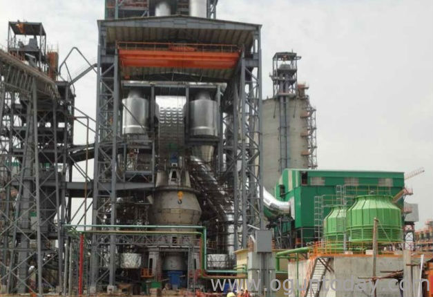 Section of Lafarge Cement Plant, Ewekoro