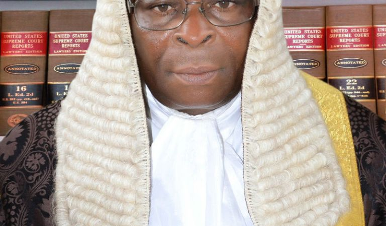 Who is Hon. Justice W.S. Nkanu Onnoghen?