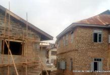 Fela's parents' home