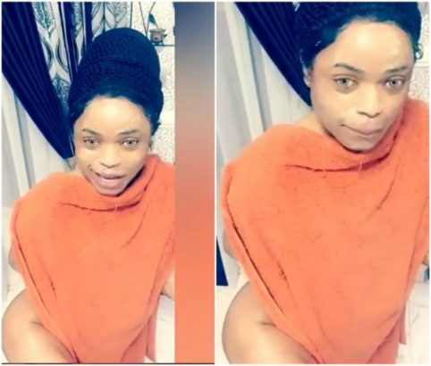 Bobrisky shows off hips in new photo