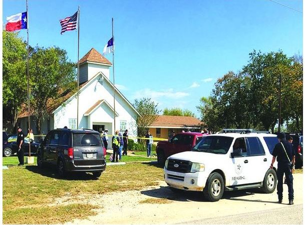 Another mass shooting in the U.S, again in Texas, in a church