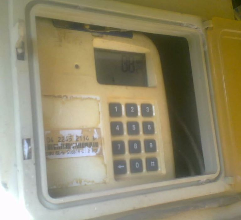 Electric power plant meter