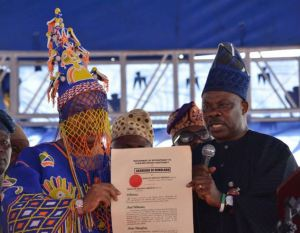 new akarigbo of Remoland