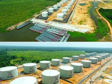 petrolex oil tank farm
