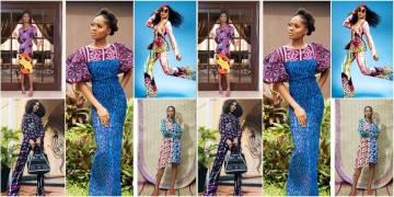 Women in Adire fashion