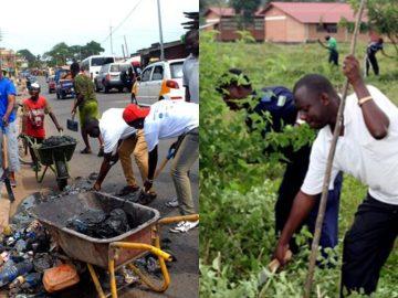 Ogun environmental sanitization exercise