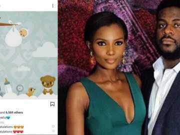 Agbani Darego & Husband