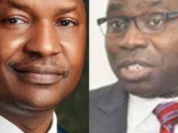 minister of finance Abubakar malami,Former governor of delta state james Ibori