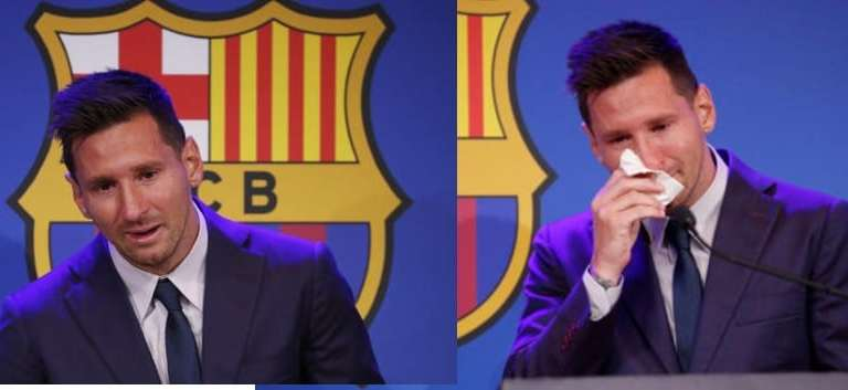 Messi amid tears, confirms likely move to PSG