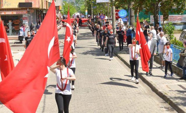Beşikdüzü'nde 19 Mayıs Kutlamaları