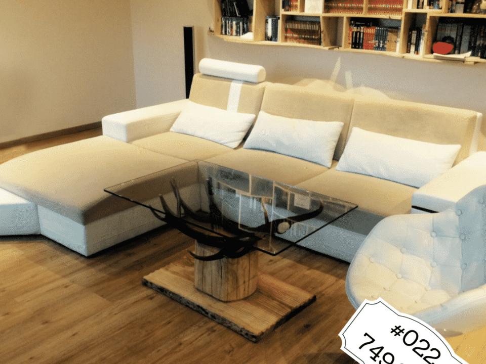 Hirschgeweih designer Couchtisch modern ein schöner Geweihmöbel Tisch