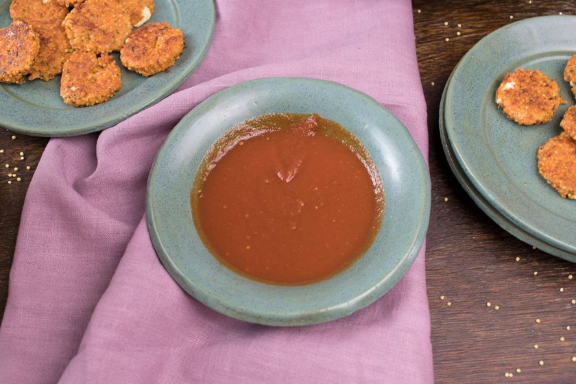 Baby Led Weaning: Hirselaibchen mit Süßkartoffelpommes