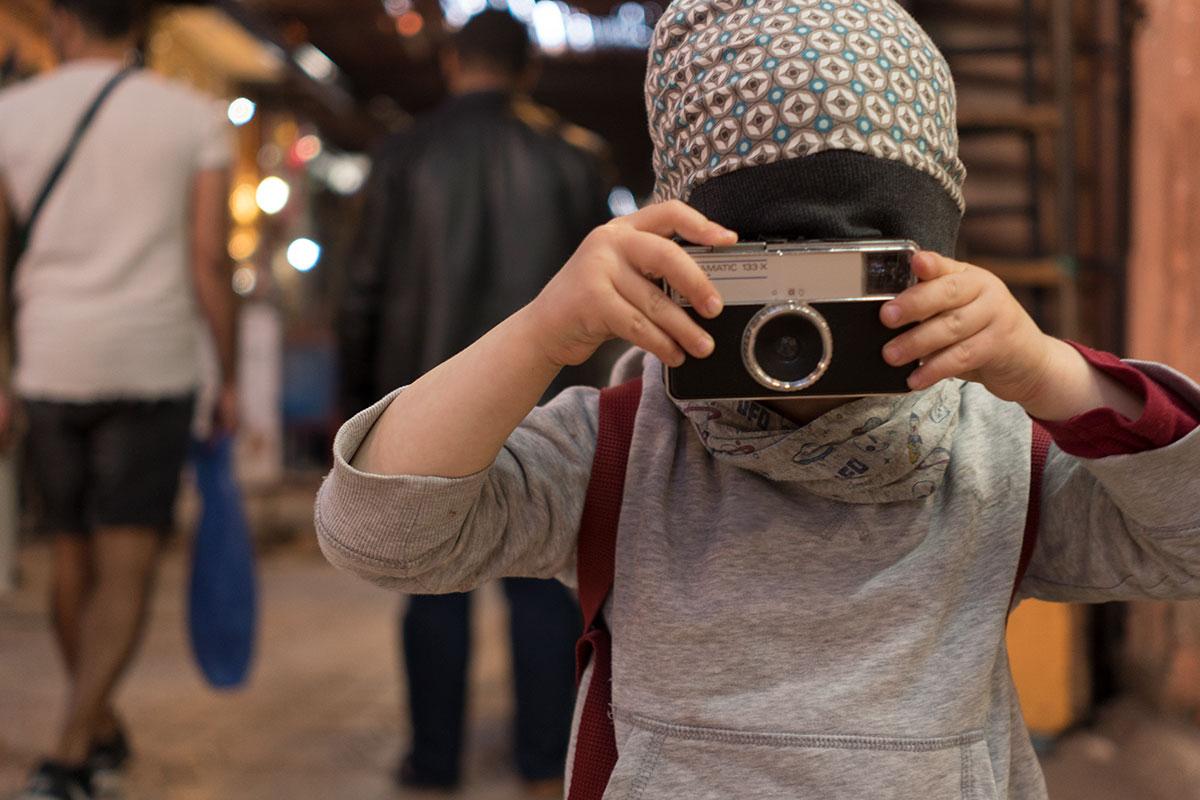 Marrakesch mit Kind