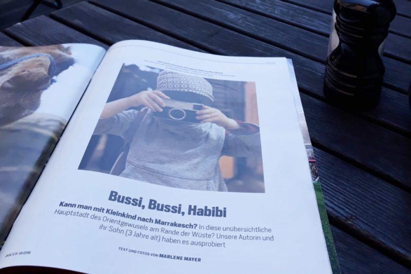 Marrakesch mit Kind: Bussi, Bussi Habibi