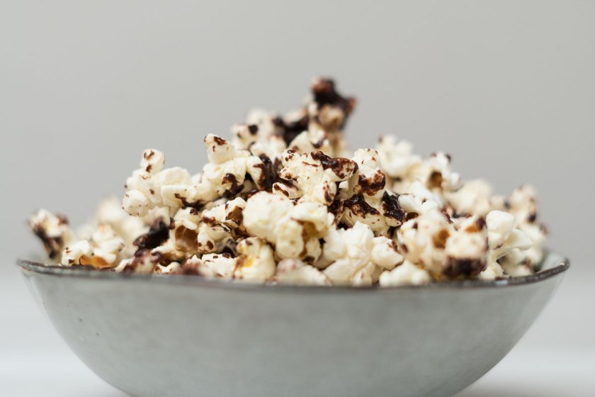 Popcorn Rezept mit Schokolade