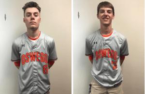 Jake Salzbrunn and Tanner Turnquist; OHS Senior Varsity Baseball Players