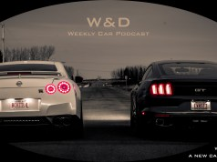 W&D Logo, two sports cars