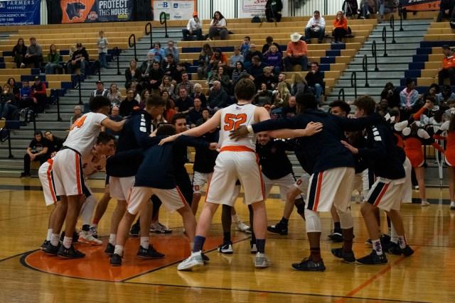 Oswego Boys Basketball Team