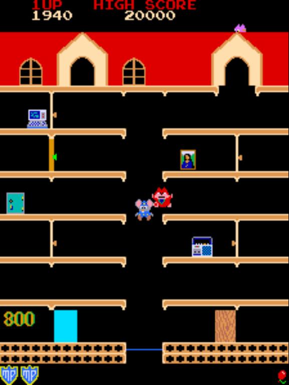 Mappy gameplay screenshot