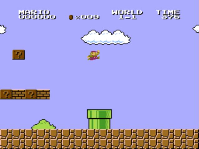 VS. Super Mario Bros gameplay screenshot